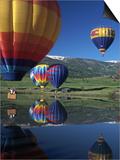 Hot Air Balloons  Snowmass  CO