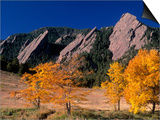 The Flatirons  Boulder  Colorado