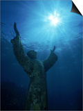 Christ of the Abyss Statue  Pennekamp State Park  FL