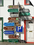 Profusion of Road Signs  Ballyvaughan  County Clare  Munster  Republic of Ireland