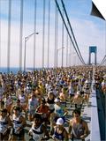 Runners  Marathon  New York  New York State  USA