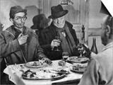 Jean Gabin and Darry Cowl: Archimede  Le Clochard  1959