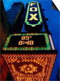 Fox Theater Entrance and Marquee  Atlanta  GA