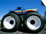 Huge Tyres  Big Foot  Customised Car  USA