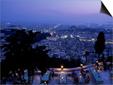 Acropolis & Likavitos Hill  Athens  Greece