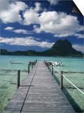 Scenic Dock off Motu Tapu  Bora Bora