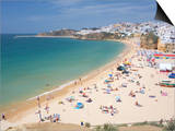 Albufeira Beach and Village  Algarve  Portugal