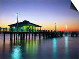 Fishing Pier at Sunrise  Fort de Soto Park  FL