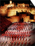 The Military Tattoo  Edinburgh  Lothian  Scotland  United Kingdom