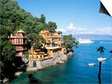 Portofino  Liguria  Italy  Mediterranean