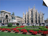 Piazza Del Duomo  Milan  Lombardy  Italy