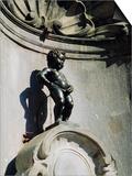 Manneken Pis Statue  Brussels  Belgium