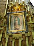 Basilica De Guadalupe  a Famous Pilgramage Center  Mexico City  Mexico  North America