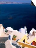 Oia (Ia)  Island of Santorini (Thira)  Cyclades Islands  Aegean  Greek Islands  Greece  Europe