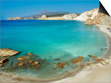 Turquoise Sea  Firiplaka Beach  Milos  Cyclades Islands  Greek Islands  Aegean Sea  Greece  Europe
