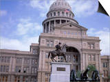 Exterior of State Capitol Building  Austin  Texas  United States of America (Usa)  North America