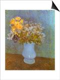 Flowers in Blue Vase  1887