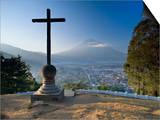 Mirador De La Cruz  Antigua  Guatemala  Central America