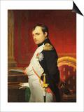 Delaroche  Portrait de l'empereur Napol 1er dans son cabinet