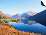 Wastwater  Lake District National Park  Cumbria  England  United Kingdom