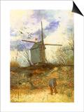 The Windmill  1886