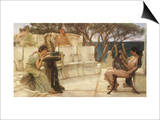 Sappho and Alcaeus  1880