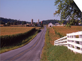 Country Road  Lancaster County  PA