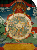 Wheel of Life  Tibetan Art  China