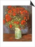 Vase of Poppies  1886