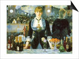 Bar at the Folies-Bergère  1881
