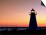 Lighthouse at Sunset  Mattapoisett  MA