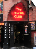 Cavern Club  Mathew Street  Liverpool  Merseyside  England  United Kingdom  Europe