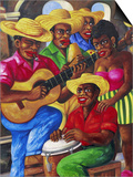Cuban Paintings  Havana  Cuba  West Indies  Central America