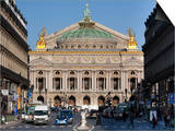 Opera Garnier Building  Paris  France  Europe