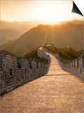 Great Wall of China  UNESCO World Heritage Site  Huanghuacheng (Yellow Flower) at Sunset  Ming Dyna