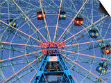 Wonder Wheel  Coney Island  Brooklyn  New York City  United States of America  North America