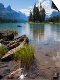 Spirit Island  Maligne Lake  Jasper National Park  UNESCO World Heritage Site  British Columbia  Ro
