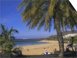 The Beach at Playa Blanca  Lanzarote  Canary Islands  Atlantic  Spain  Europe