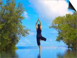 Yoga Meditation  Full Moon Island  Male Atoll  Maldives  Indian Ocean