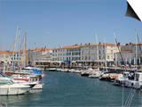 Harbour and Quayside  St Martin-De-Re  Ile De Re Charente-Maritime  France  Europe