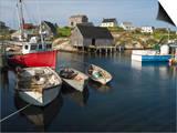 Peggy's Cove  Nova Scotia  Canada  North America