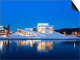 Oslo Opera House  Snohetta Architect  Oslo  Norway  Scandinavia  Europe