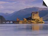 Eilean Donan Castle  Loch Duich  Highland Region  Scotland  UK  Europe