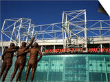 Manchester United Football Club Stadium  Old Trafford  Manchester  England  United Kingdom  Europe
