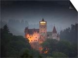 Bran Castle (Dracula Castle)  Bran  Transylvania  Romania  Europe