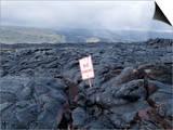 Lava Flow  Kilauea  Hawaii Volcanoes National Park  Island of Hawaii (Big Island)