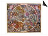 Celestial Chart  1661