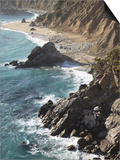 Rocky Stretch of Coastline in Big Sur  California  United States of America  North America