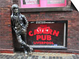 John Lennon Sculpture  Mathew Street  Liverpool  Merseyside  England  United Kingdom  Europe