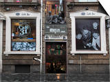 Beatles Shop  Mathew Street  Liverpool  Merseyside  England  United Kingdom  Europe